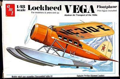 Amt T637 1 48 Lockheed Vega Floatplane Bush Plane