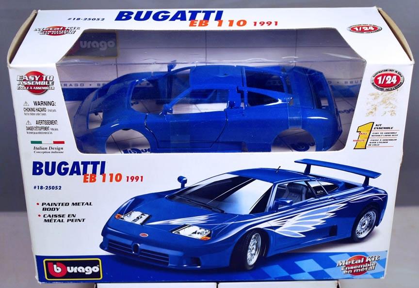 Bburago 25052 1 24 1991 Bugatti Eb 110 Metal Body