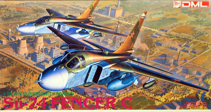 DML/Dragon #2503 1/72 Sukhoi SU-24 Fencer C