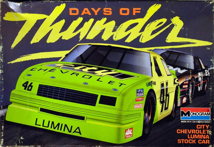 Monogram #2917 #46 'Days of Thunder' 1990 'City Chevrolet